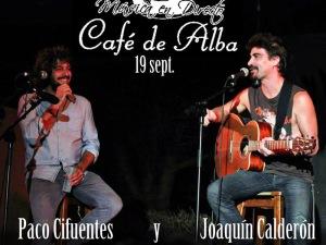Paco Cifuentes y Joaquín Calderón