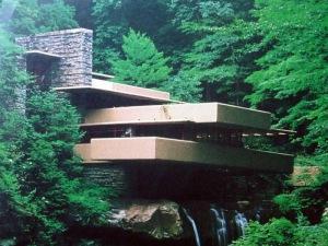 La casa sobre la cascada