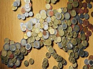 Europa reducida a dinero