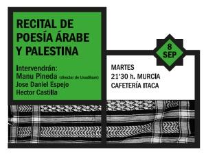 Recital de poesía palestina