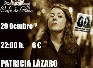 Patricia en el Café de Alba -alta-