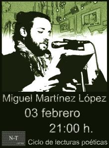 Cartel definitivo Miguel Martínez López'