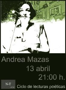 Cartel definitivo Andrea Mazas'