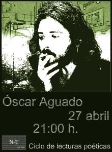 Cartel definitivo Óscar Aguado'