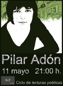 Cartel definitivo Pilar Adón