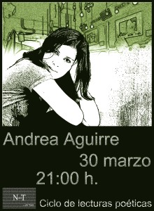 Cartel deifitivo Andrea Aguirre