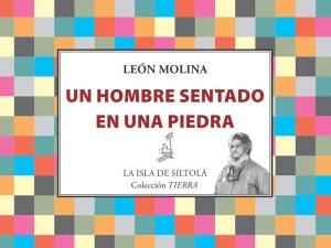 León Molina 'Un hombre sentado en una piedra'