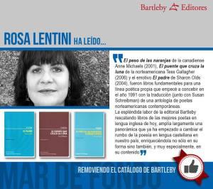 Bartleby - Rosa Lentini